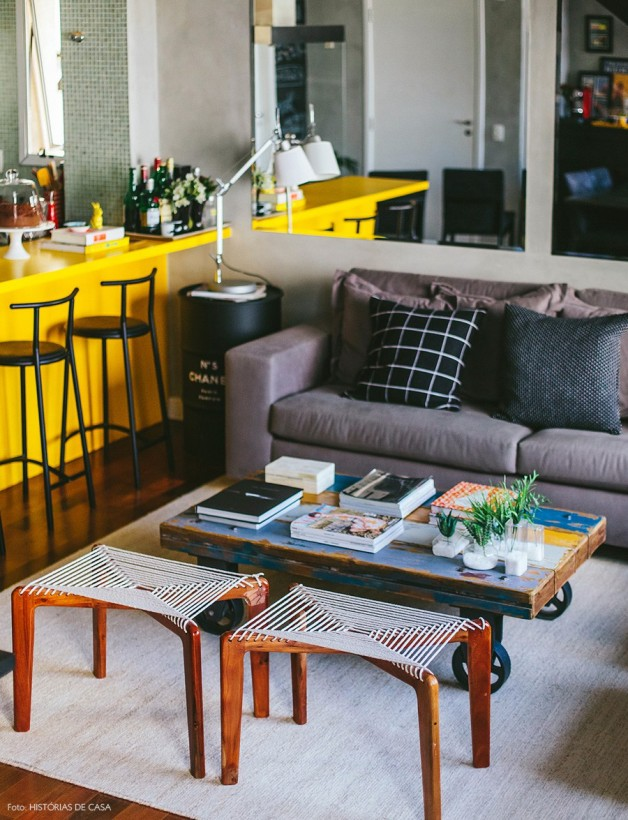09-decoracao-loft-sala-cozinha-integrada-amarelo