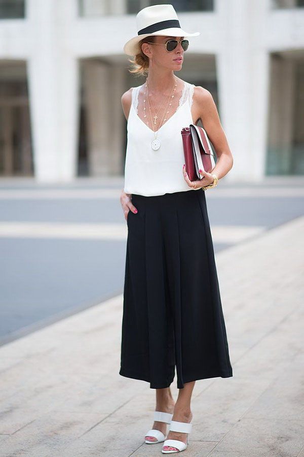 pantacourt-pants-street-style-mule-t-shirt