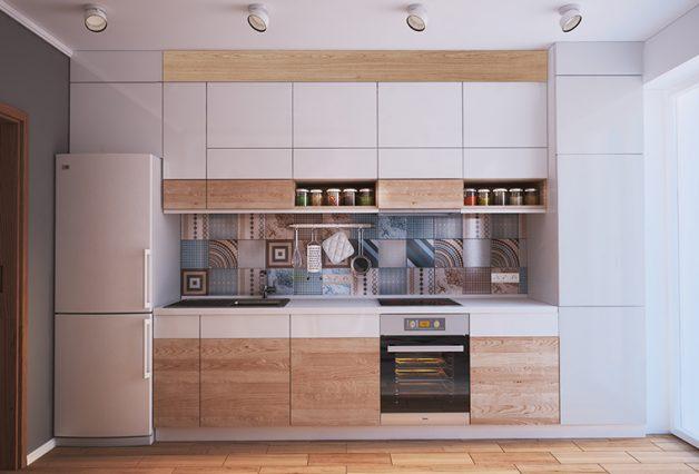 ideias para uma cozinha pequena