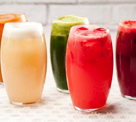 receitas de sucos para os dias de folia
