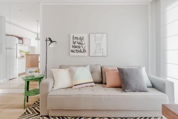 apartamento charmoso e pequeno