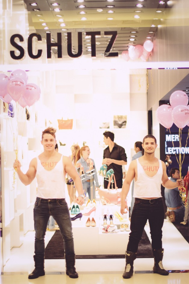 Look da Carola e o lançamento da Schutz Summer Collection 2014 no Ribeirão Shopping