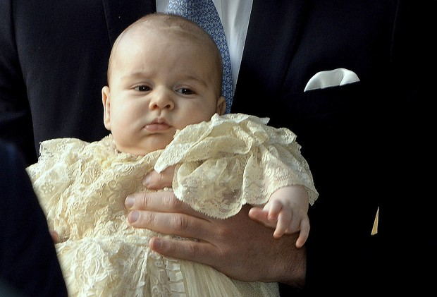 O batizado do royal baby George em Londres