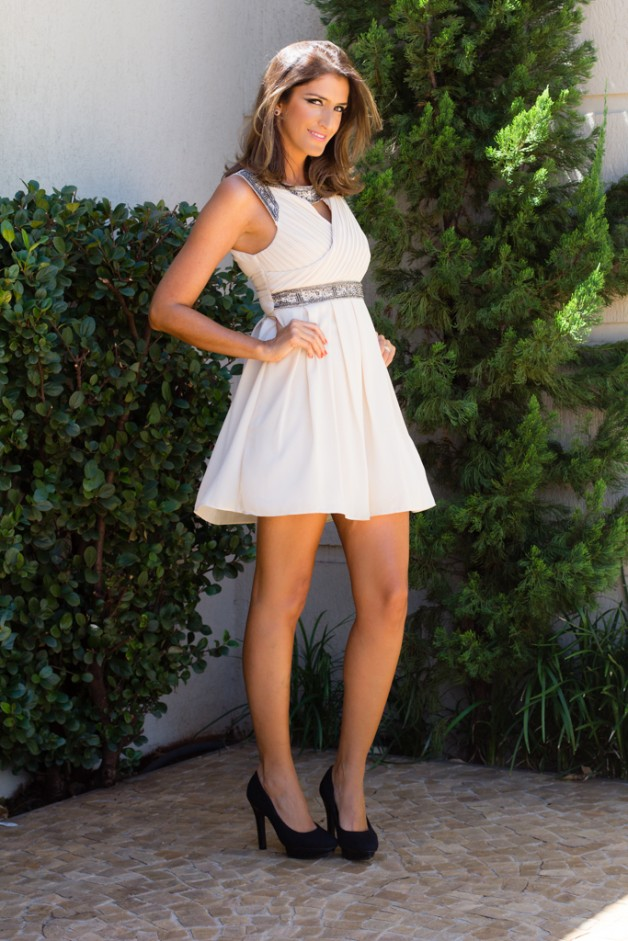 Look da Carola: romantic dress da Luks