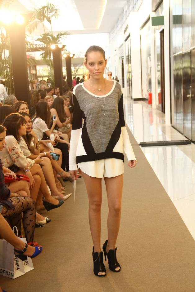 O desfile da Pop Up Store no Inspire Iguatemi