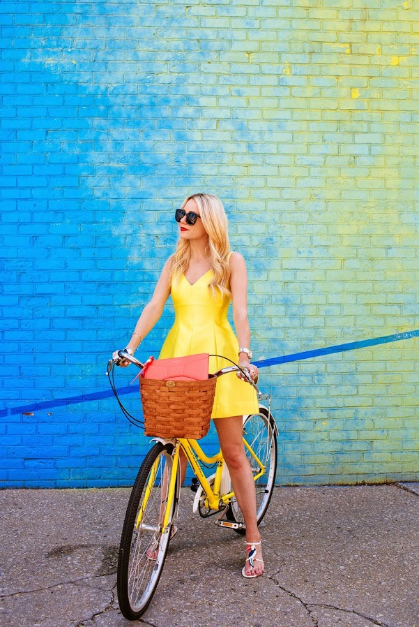 Look Inspired + bicicleta