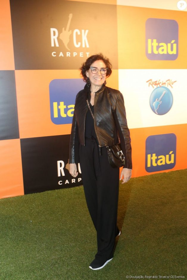 look famosas rock in rio 2017 all black